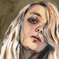 illustration fashion portfolio watercolor holy mane