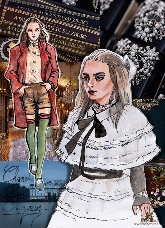 illustration mode Holy Mane Chanel